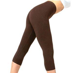 Xhilaration Low Rise Brown Yoga Leggings Small